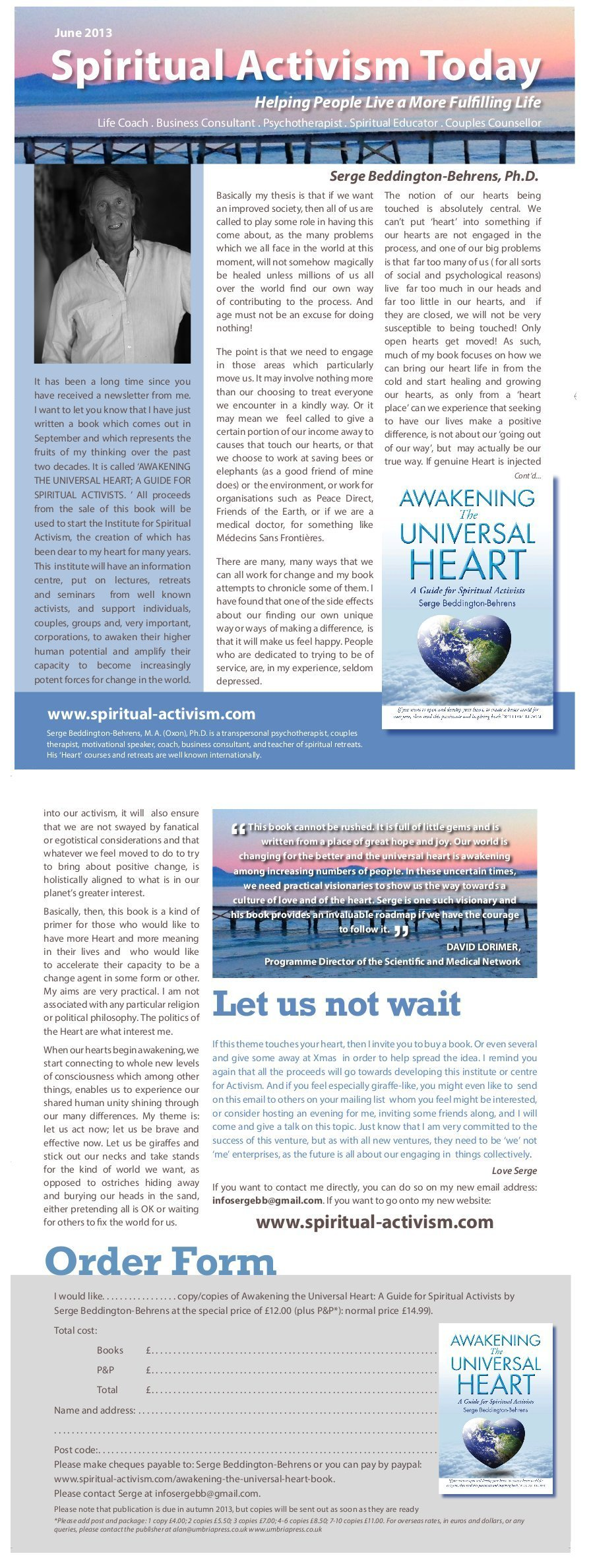 Spiritual-Activism June 2013