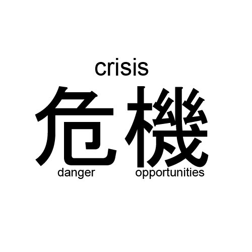 Crisis = Dangerous Opportunity